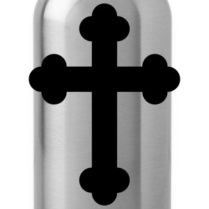 Black Cross - Water Bottle