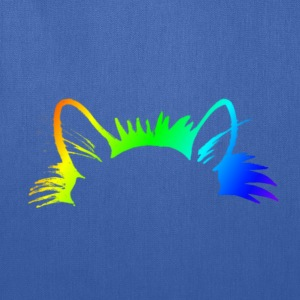 Rainbow Kitty Ears Mens Premium T-shirt - Tote Bag
