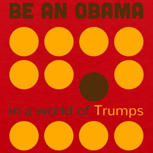 Be better: be an Obama in a world of Trumps - Men's Premium Tank