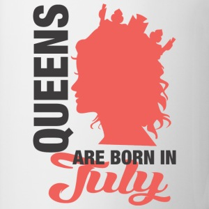 Queens Are Born In July T-Shirts - Coffee/Tea Mug