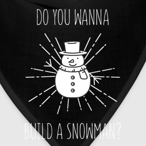 Snowman - Do you wanna build a snowman? - Bandana