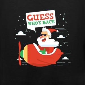 Santa - Guess who`s back - Men's Premium Tank