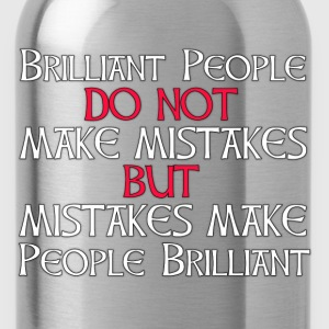 Brilliant Mistakes - Water Bottle