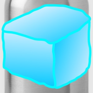 Water Bottle - block,cartoon,color,coloring,cube,cubes,food,food,ice,melting
