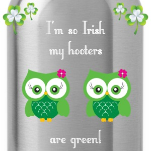I'm so Irish my hooters are green! - Water Bottle