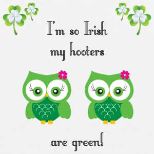 I'm so Irish my hooters are green! - Men's Premium Tank