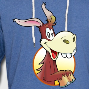 cartoon mule T-Shirts - Unisex Lightweight Terry Hoodie