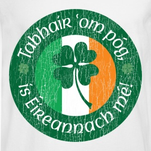 Kiss me I'm Irish! - Men's Long Sleeve T-Shirt