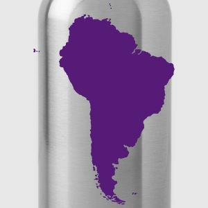 Map of South America - Water Bottle