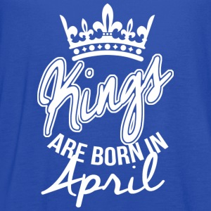 Kings Are Born In April T-Shirts - Women's Flowy Tank Top by Bella