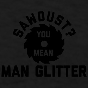 Man Glitter Mugs & Drinkware - Men's T-Shirt