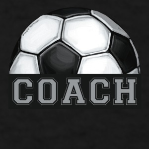 Soccer Coach Art Mug - Men's T-Shirt