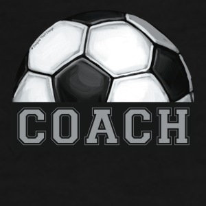 Soccer Coach Art Mug - Men's Premium T-Shirt