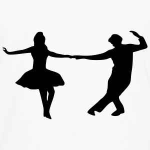 dancing couple Baby & Toddler Shirts - Men's Premium Long Sleeve T-Shirt