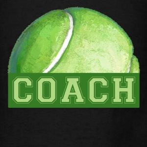 Tennis Coach Art Tote - Men's T-Shirt