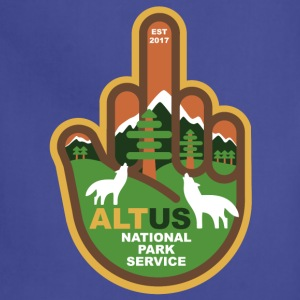 ALT US National Park Service - Middle Finger - Adjustable Apron