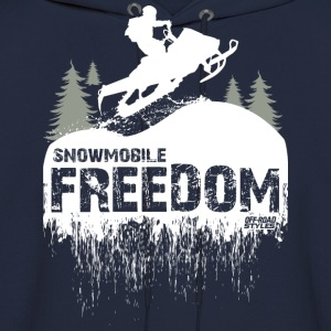 Snowmobile Freedom T-Shirts - Men's Hoodie