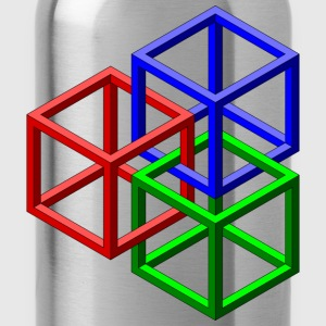Geometric Shapes - Water Bottle