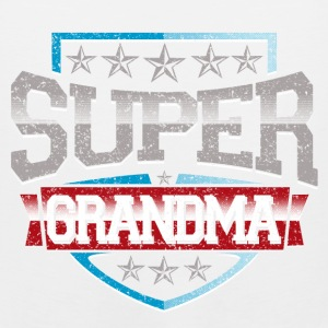 Super Grandma T-Shirts - Men's Premium Tank