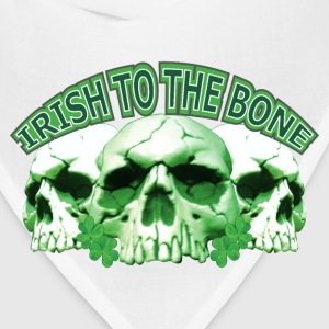 Irish to the Bone Skull T-Shirts - Bandana
