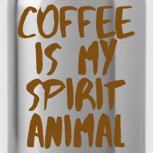 Coffee is my spiritual animal T-Shirts - Water Bottle
