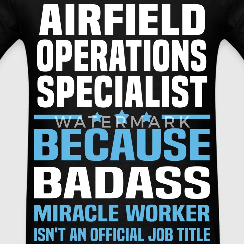 Airfield Operations Specialist Tshirt - Men's T-Shirt