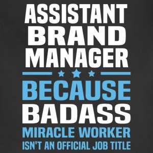 Assistant Brand Manager Tshirt - Adjustable Apron