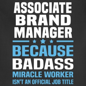 Associate Brand Manager Tshirt - Adjustable Apron