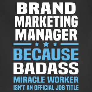 Brand Marketing Manager Tshirt - Adjustable Apron