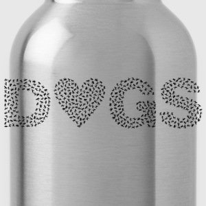 Heart Dogs - Water Bottle