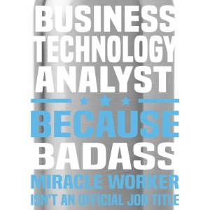 Business Technology Analyst Tshirt - Water Bottle