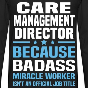 Care Management Director Tshirt - Men's Premium Long Sleeve T-Shirt