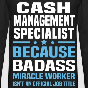 Cash Management Specialist Tshirt - Men's Premium Long Sleeve T-Shirt