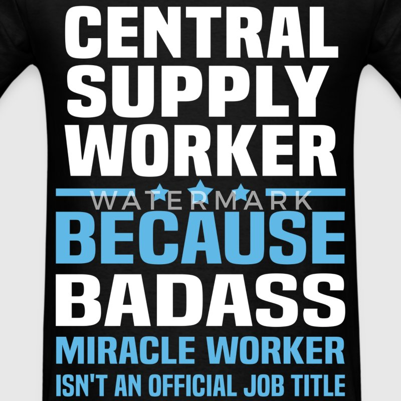 Central Supply Worker Tshirt - Men's T-Shirt