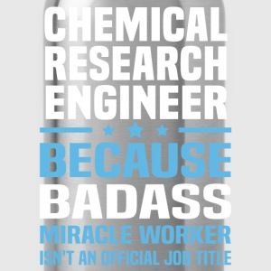 Chemical Research Engineer Tshirt - Water Bottle