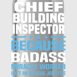 Chief Building Inspector Tshirt - Water Bottle
