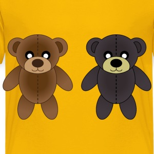 Plush bears - Toddler Premium T-Shirt