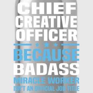 Chief Creative Officer Tshirt - Water Bottle