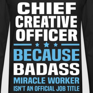 Chief Creative Officer Tshirt - Men's Premium Long Sleeve T-Shirt