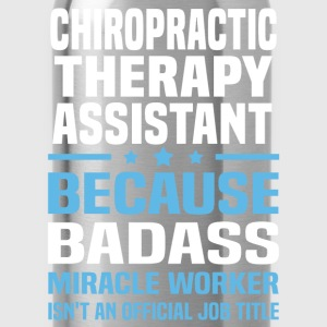 Chiropractic Therapy Assistant Tshirt - Water Bottle