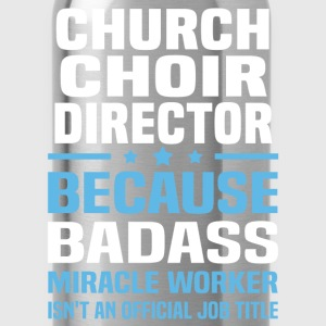 Church Choir Director Tshirt - Water Bottle