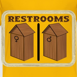 Old Restrooms remix - Toddler Premium T-Shirt