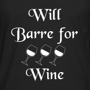 SST-1260 Will Barre for Wine Tanks - Men's Premium Long Sleeve T-Shirt
