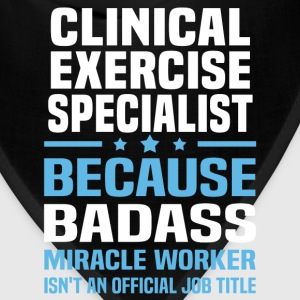 Clinical Exercise Specialist Tshirt - Bandana