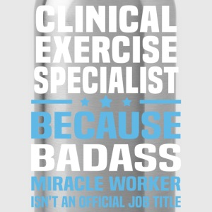 Clinical Exercise Specialist Tshirt - Water Bottle