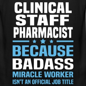 Clinical Staff Pharmacist Tshirt - Men's Premium Tank
