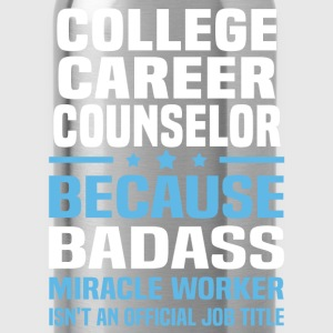 College Career Counselor Tshirt - Water Bottle