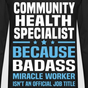 Community Health Specialist Tshirt - Men's Premium Long Sleeve T-Shirt