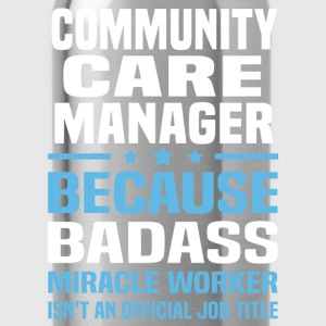 Community Care Manager Tshirt - Water Bottle