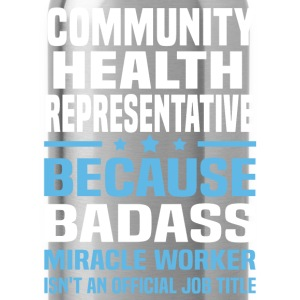 Community Health Representative Tshirt - Water Bottle